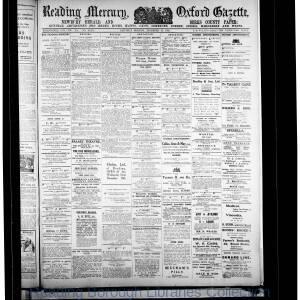 Reading Mercury Oxford Gazette 12-1916