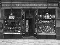 Edwin Trim's Stationery shop, 20 Wimbledon Hill Road.