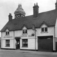 The Five Bells Public House in the High Street Taken 1949