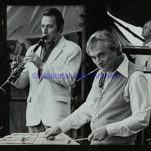 Buddy DeFranco and Terry Gibbs (left to right)