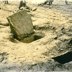 Bronze Age Cists, Llanveynoe, Olchon Valley, 1934