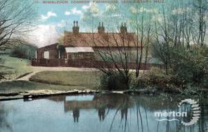 The Farm, near Caesar's Well, Wimbledon Common: