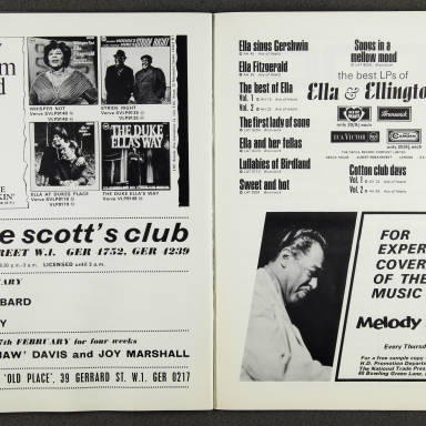 Ella Fitzgerald and Duke Ellington Orchestra – February  1967 009