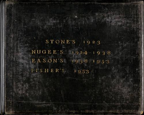 Photograph Album 1923-1960 - B Social 2 - Stone's, Nugees, Easons, Fishers_01_B Social 2 - Stone's, Nugees, Easons, Fishers (1923-1960)-001.jpg