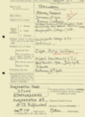 RMC Form 18A Personal Detail Sheets Aug 1934 Intake - page 22