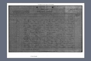 War Diary - East Kent Regiment (Buffs) I