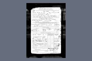 CooperP Enlistment papers descriptiver eport