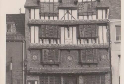 Tudor House, photograph, c1930, Exeter
