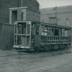 Tram Being Scrapped