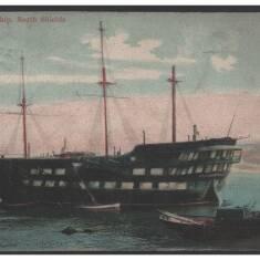 Postcards: Training Ship Wellesley