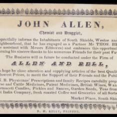 John Allen, Druggist