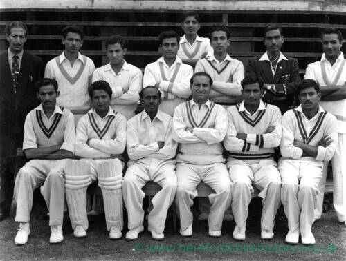 Unknown cricket squad.