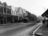 Merton High Street: Looking west from Pincott Road