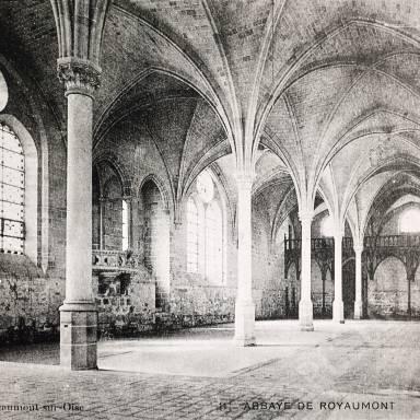 Refectory, Abbaye de Royaumont