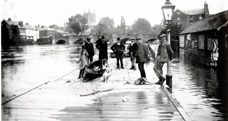 River Wye flood, 1912