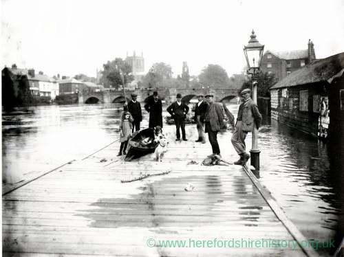 River Wye flood, 1912