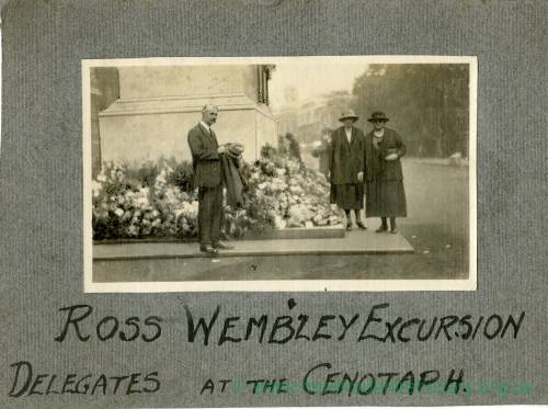 Town Excursion to the British Empire Exhibition, Wembley 1924