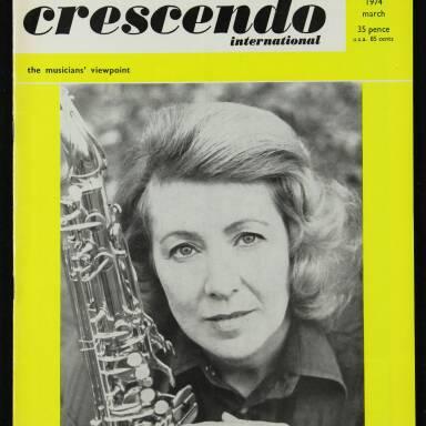 Crescendo 1974 March