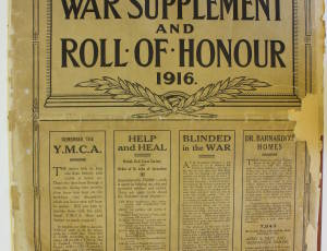 Leigh Journal, Roll of Honour, page 1