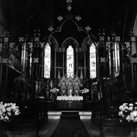 Christ Church, Interior, Merton Road, Bootle, 1982