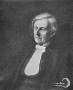 Reverend Henry William Haygarth, Vicar of Wimbledon