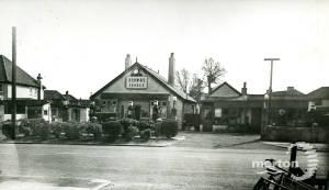Brown's Garage, Manor Road, No.60, Mitcham