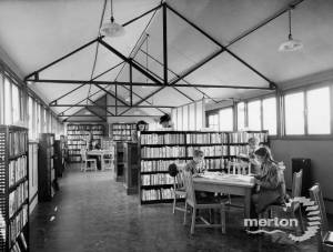 Pollards Hill Library, South Lodge Avenue, Pollards Hill