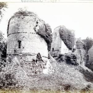 Keep and Tower, Goodrich Castle, exterior