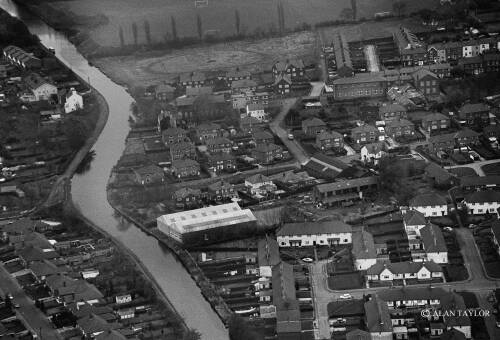 Aerial view, Moston Street