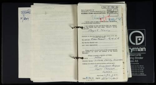 New, Clifford Stanley Wickham - N/588/79