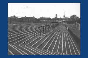 Football Terraces, Plough Lane, Wimbledon