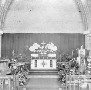 Interior of St.Marks Church