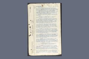 War Diary Extract Football Incident East Surrey Reg - Rearden