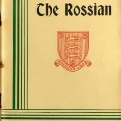 The Rossian, Autumn term 1968