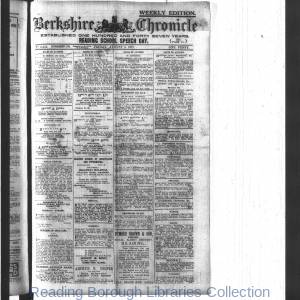 Berkshire Chronicle Reading 08-1917