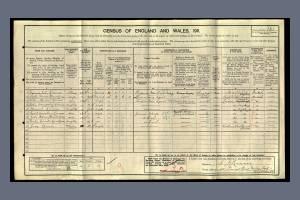 1911 census Dorset Road