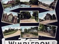 Postcard views of Wimbledon