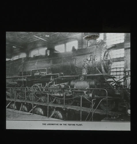 """The locomotive of the Testing Plant"""