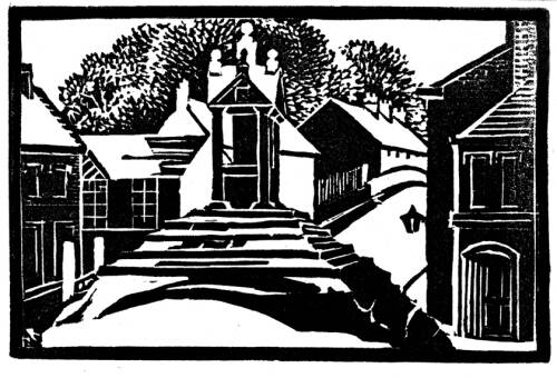 Lymm Cross by Dorothea Rowlinson