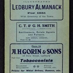 Tilley's Ledbury Almanack 1951