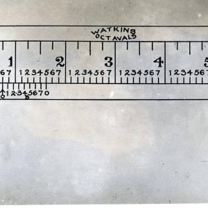 Watkins Octaval Ruler