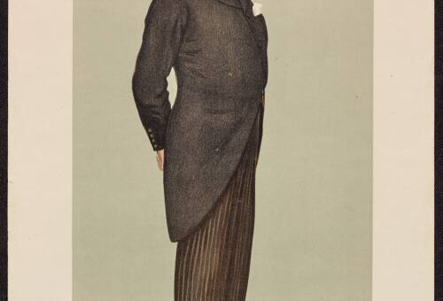 Edgar Vincent, Viscount d'Abernon (Men of the Day. No. 746.)