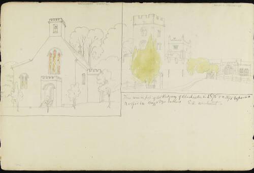 Page 33 of sketchbook 3