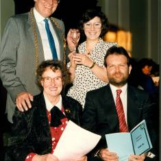 AGM of South Tyneside Voluntary Project, April 1989