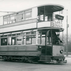 South Shields Corporation Tramways Car no.21