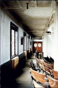 Interior of Southfields Methodist Church