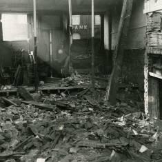 World War II, bomb damage in Chapter Row.
