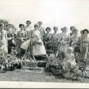 1960. 50th May Queen Janet Clifton (a)