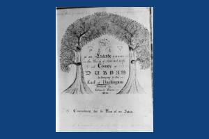 Estate survey produced by Edward Rayne
