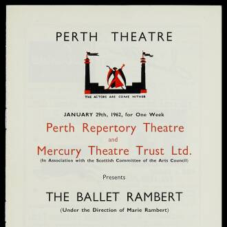Perth Theatre,  January–February 1962